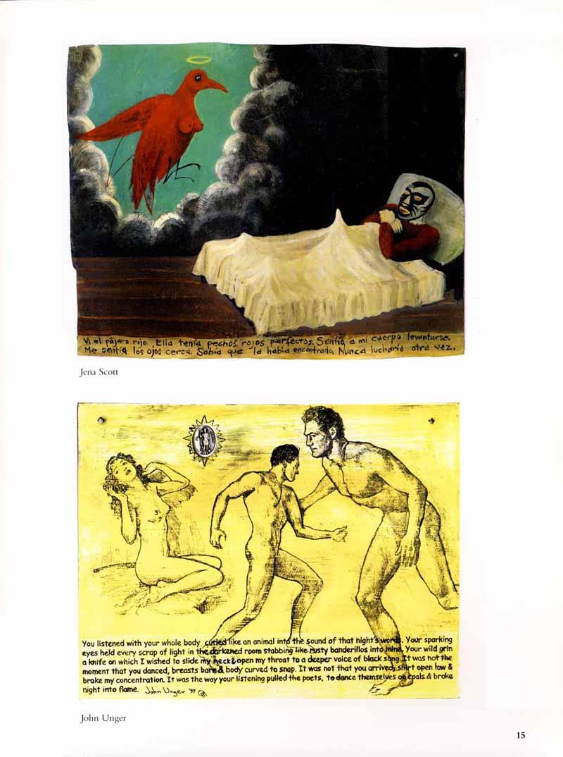 "Unger, John T. ""Sold My Soul for Rock 'N Roll"", Sextablos: Works on Metals. Chicago: Luna Books, 1999. 9."