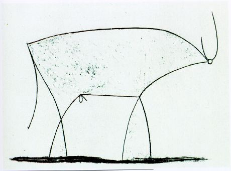 picasso bull litho state 11