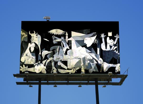 Guernica Billboard