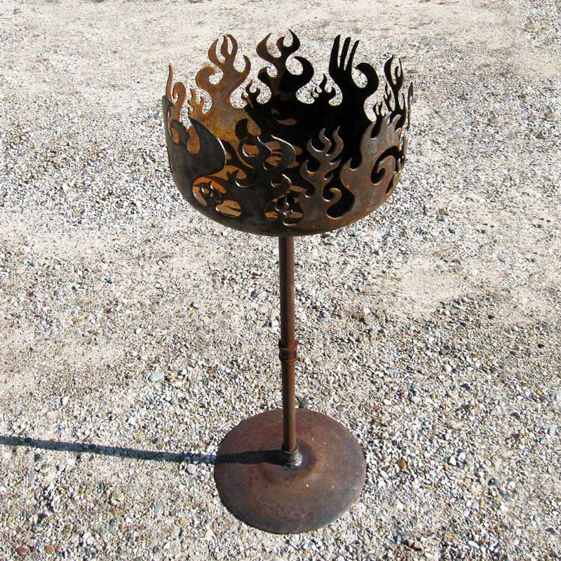 blaze of glory brazier