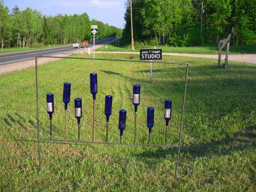 Bottle Fence design