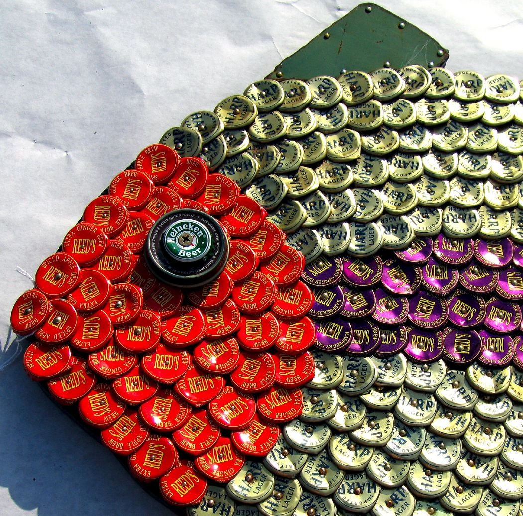 Bottle Cap Mosaic Fish No. 40, 2006