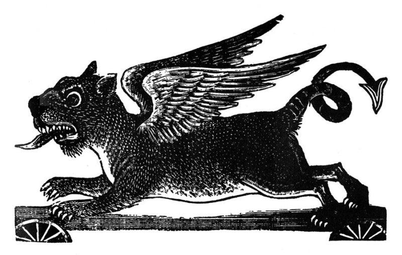 Ballad of the Dragon Jose Guadalupe Posada