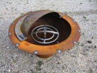 custom firebowl with gas burner