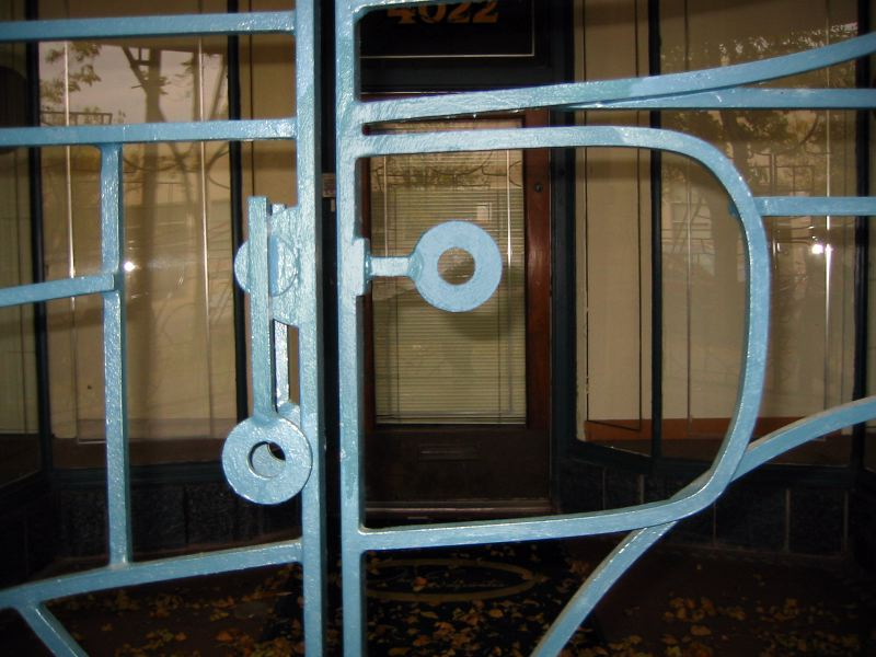 Latch design, City Gates, 2008