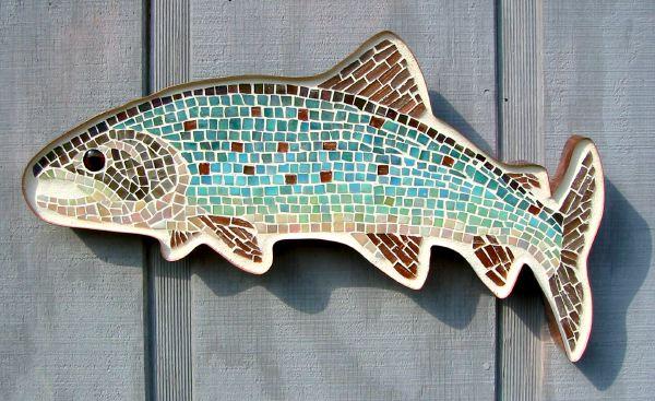 mosaic trout