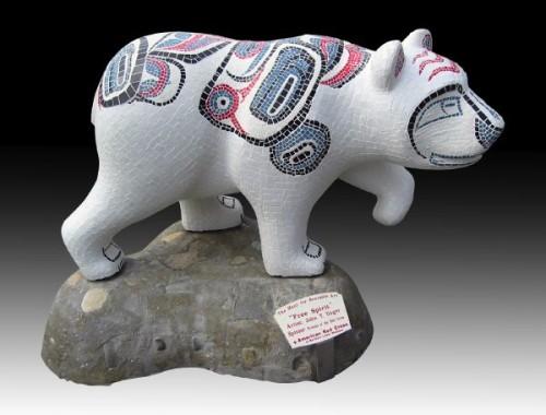 haida mosaic bear