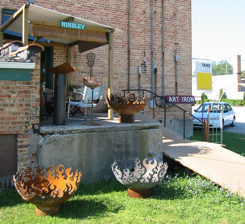 Great Bowl O' Fire Sculptural Firebowls™ in sawyer MI