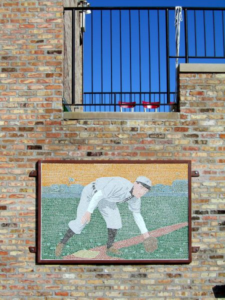 Installing Johnny Evers Mosaic