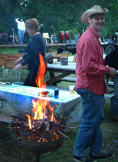 Blaze O Glory Brazier deck firepit