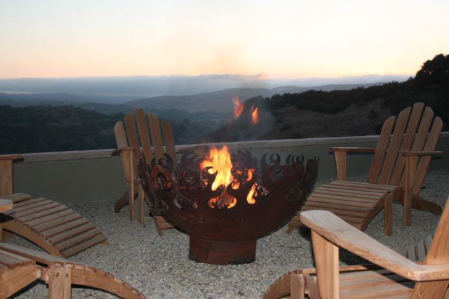 Great Bowl O' Fire 37 Inch Sculptural Firebowl™ Salinas, CA