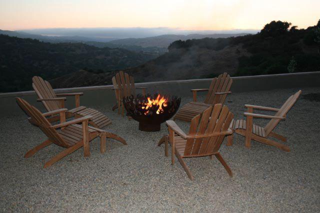 Great Bowl O' Fire 37 Inch Sculptural Firebowl™ Salinas, CA