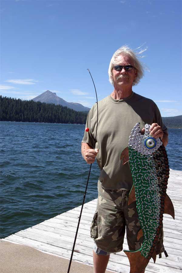bottle cap mosaic fish crown cap bottlecap
