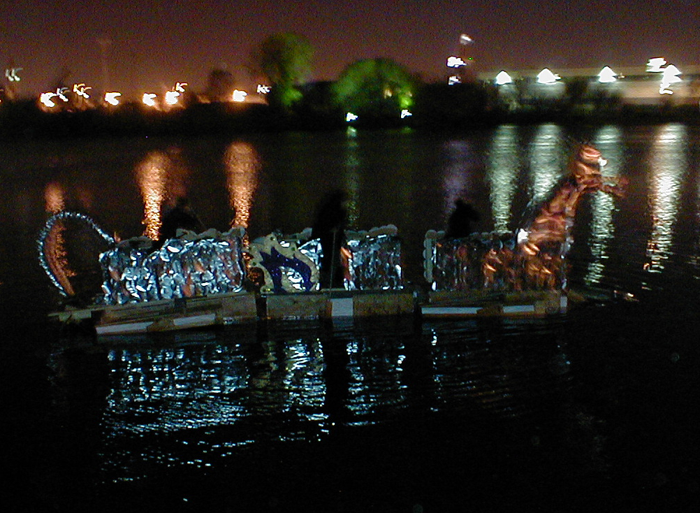 Dragon Boat on Chicago River