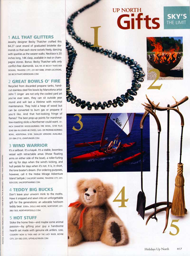 Traverse Magazine, Nov. 2007