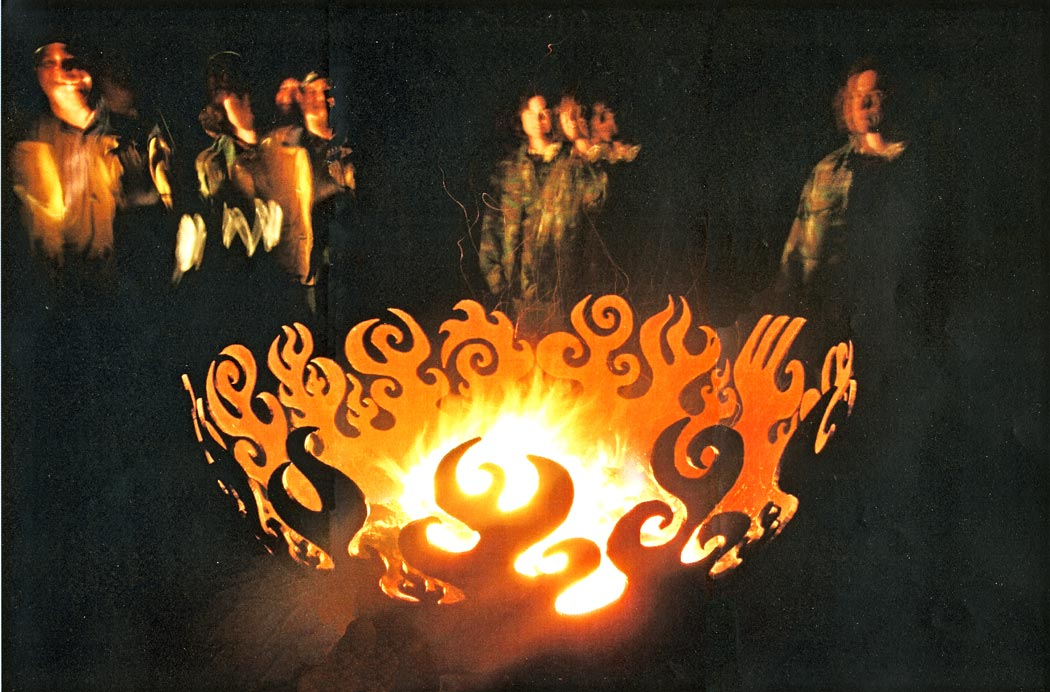 Great Bowl O' Fire 37 Inch Sculptural Firebowls™