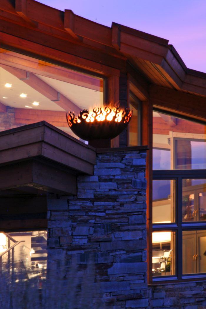 Great Bowl O' Fire 37 Inch Sculptural Firebowls™ Park City, UT