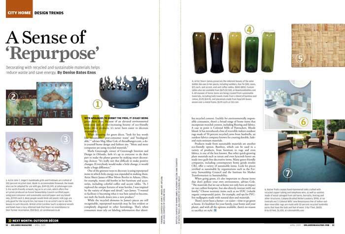 Orlando Magazine, June 2009
