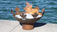 The Big Bowl O' Canada Sculptural Firebowl