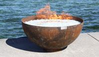 The Big Bowl O' Zen Sculptural Firebowl