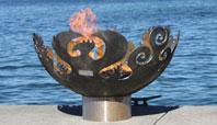 The Great Bowl O' Fire Sculptural Firebowl
