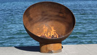 The Meridian Sculptural Firebowl