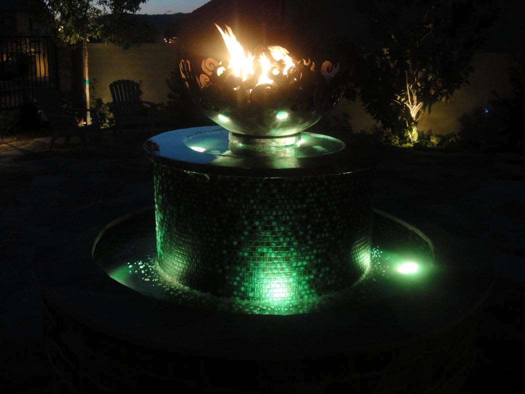 Firepit Fountain