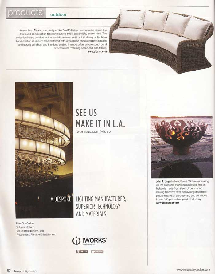 Hospitality Design, May-June 2011