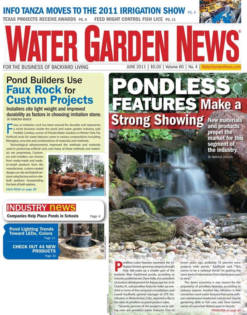 water garden cover