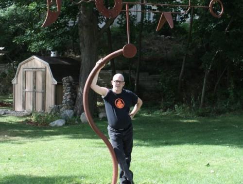 Kinetic Sculpture, Galaxy No. 3, Charlevoix, MI