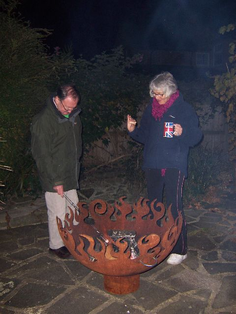 Great Bowl O Fire firepit in England