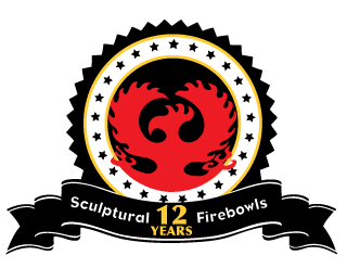 12 years of making Sculptural Firebowls since 2005