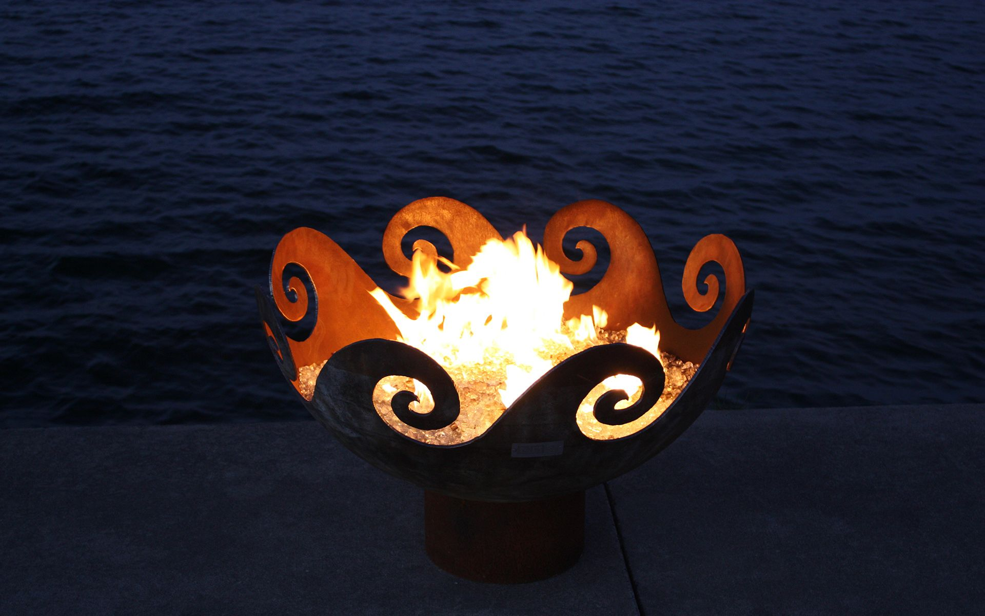 SHOP FOR SCULPTURAL FIREBOWLS – WAVES O FIRE