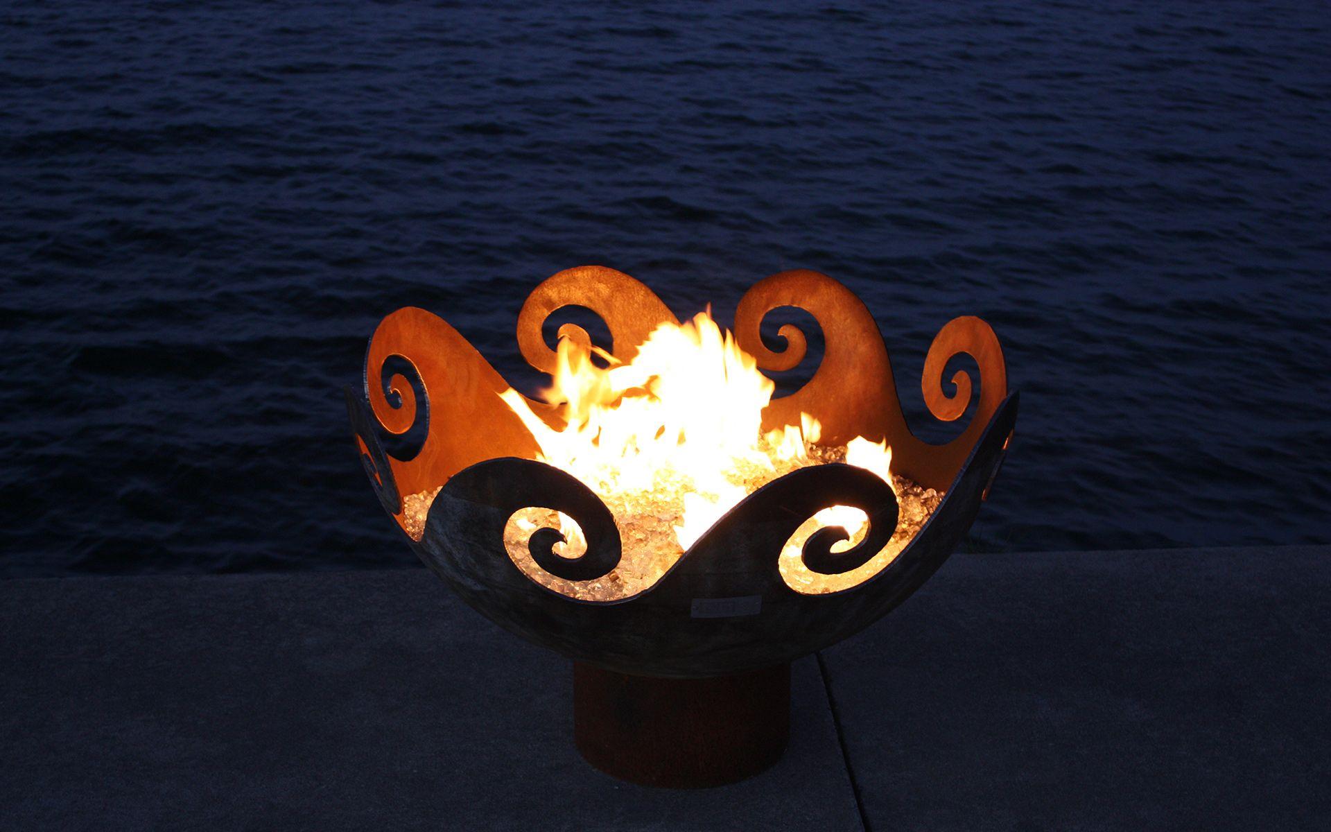 SHOP FOR SCULPTURAL FIREBOWLS – WAVES O FIRE