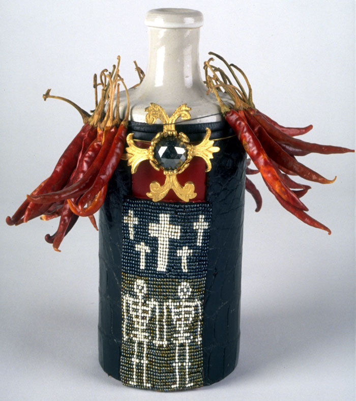 Ghede Libation Bottle, 1997