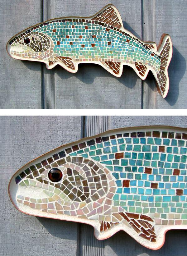 Lake-Trout_Glass-Mosaic-2006