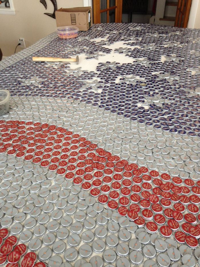 Old-Glory-Bottle-Cap-Flag