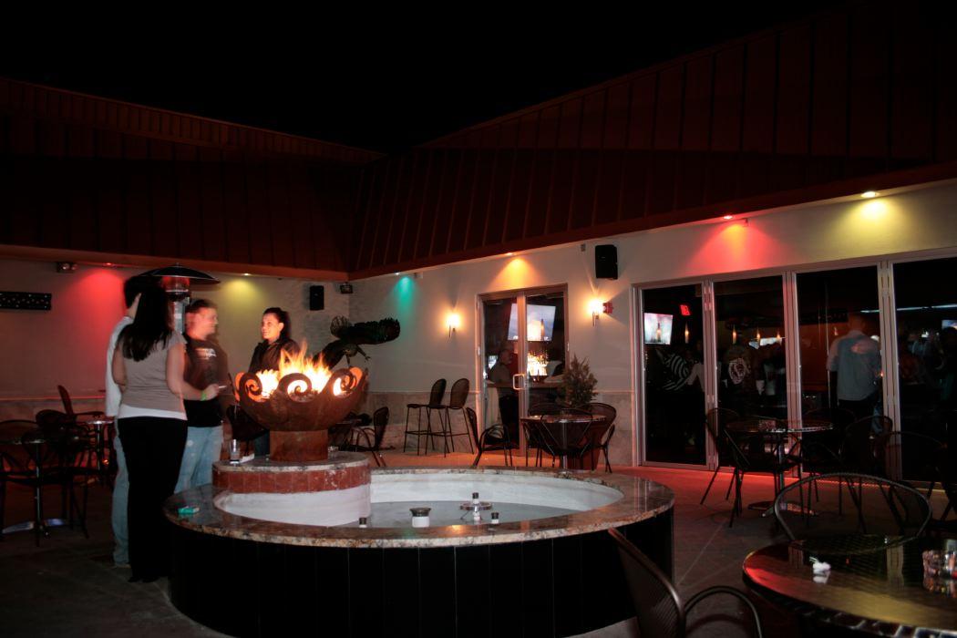 Cafe Onyx firebowl