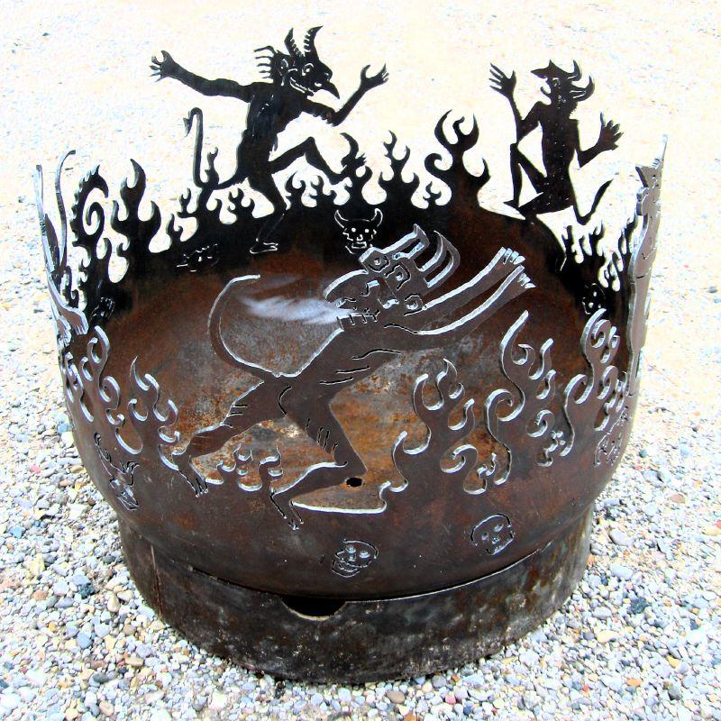 Dancing Devils Firebowl