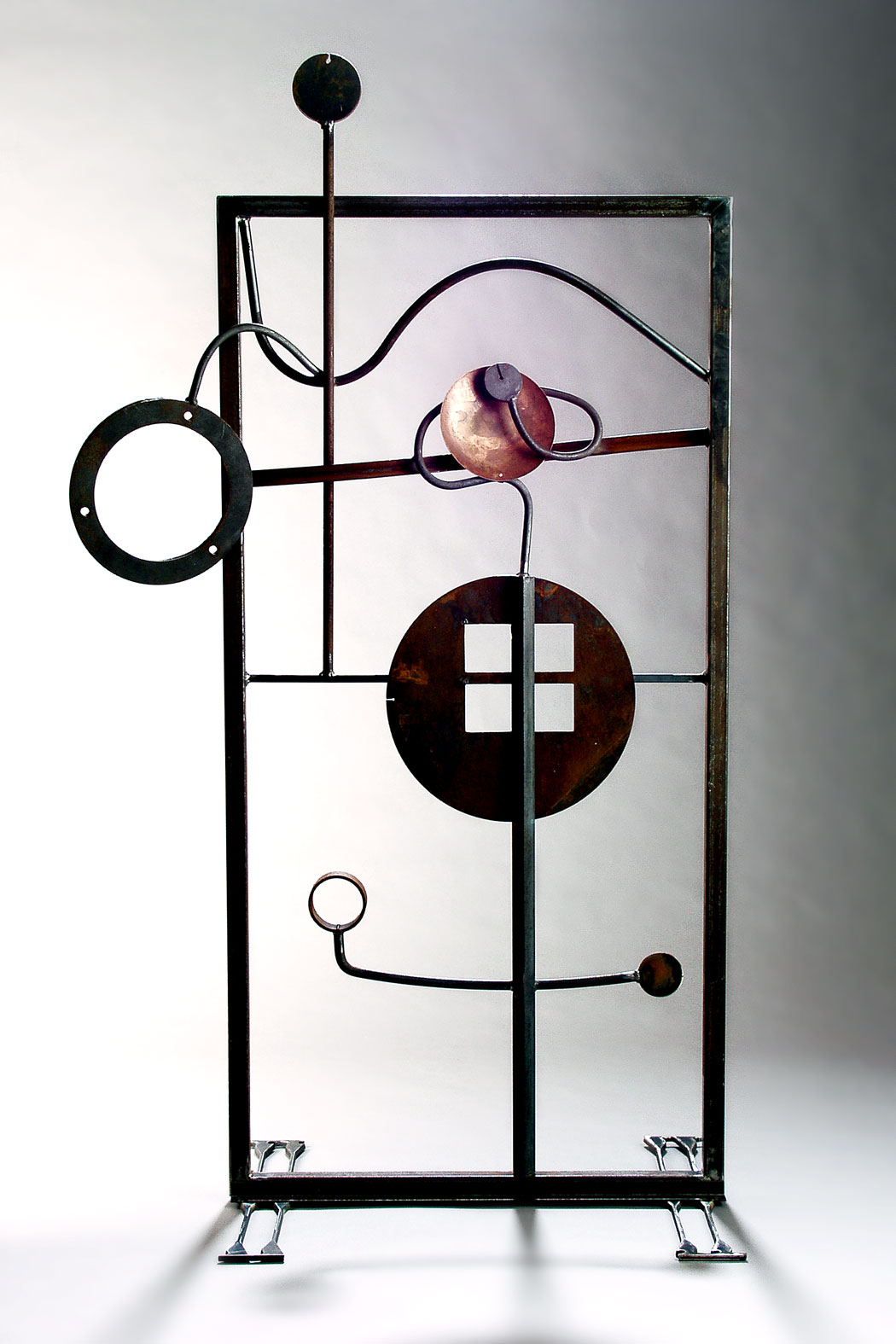 Abstract Art Nouveau Garden Screen, 2004