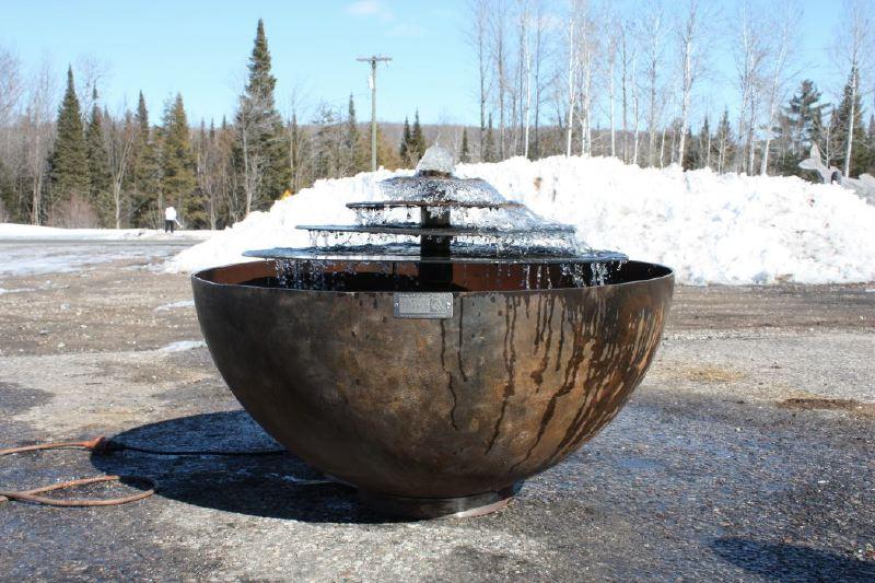 Custom Fountain to Match Big Bowl O' Zen