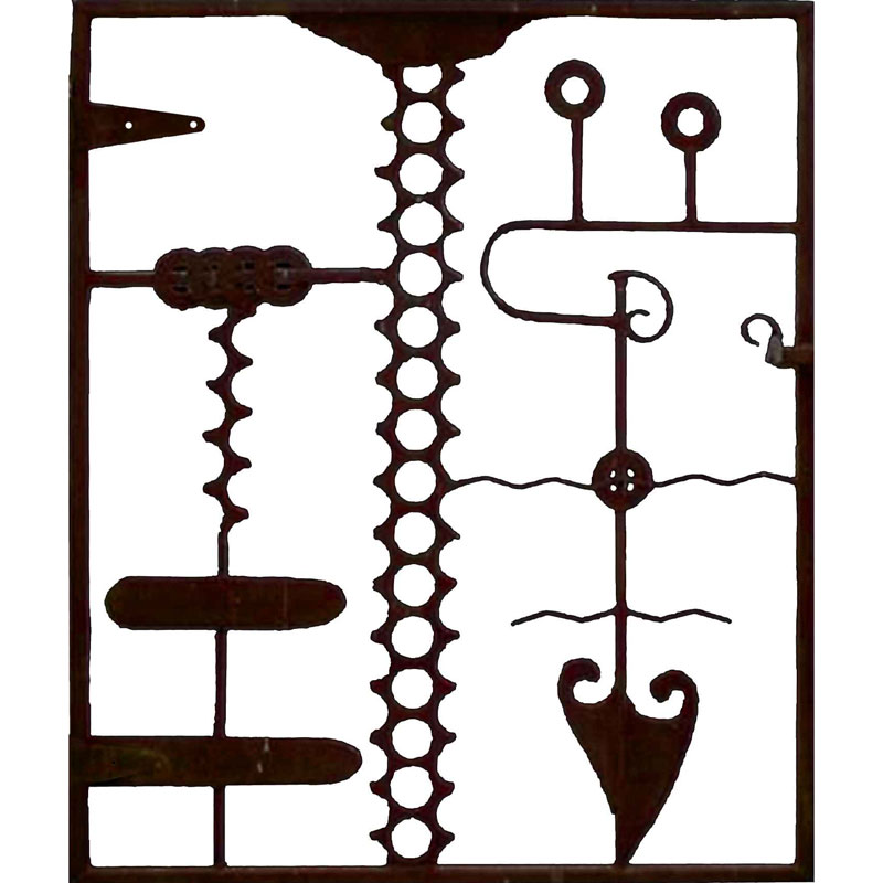 legba veve abstract gate