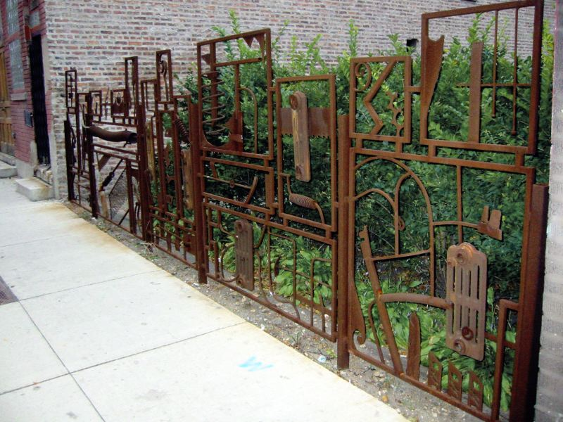 Scrap Fence, 2208 S. Halsted, 2002