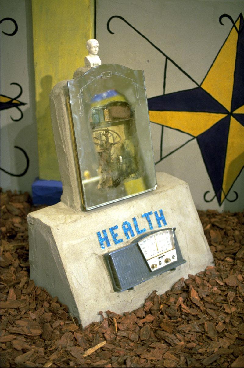 Radio Ancestrale Installation health gravestone