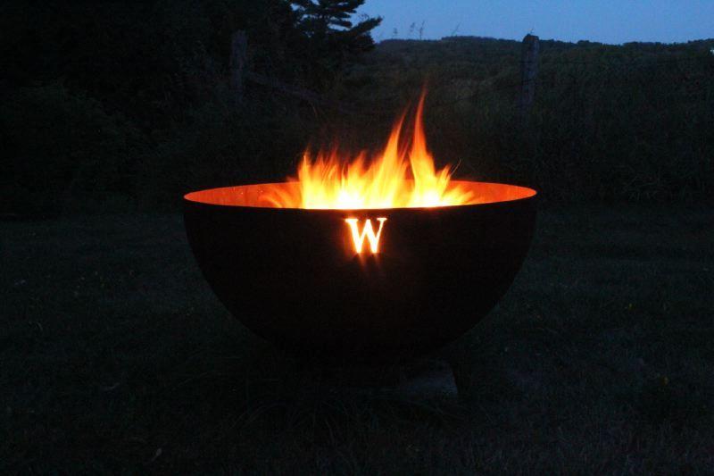 Compass Sculptural Firebowl