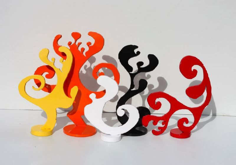 Fire Imps: Playful, Colorful Sculpture for Your Home