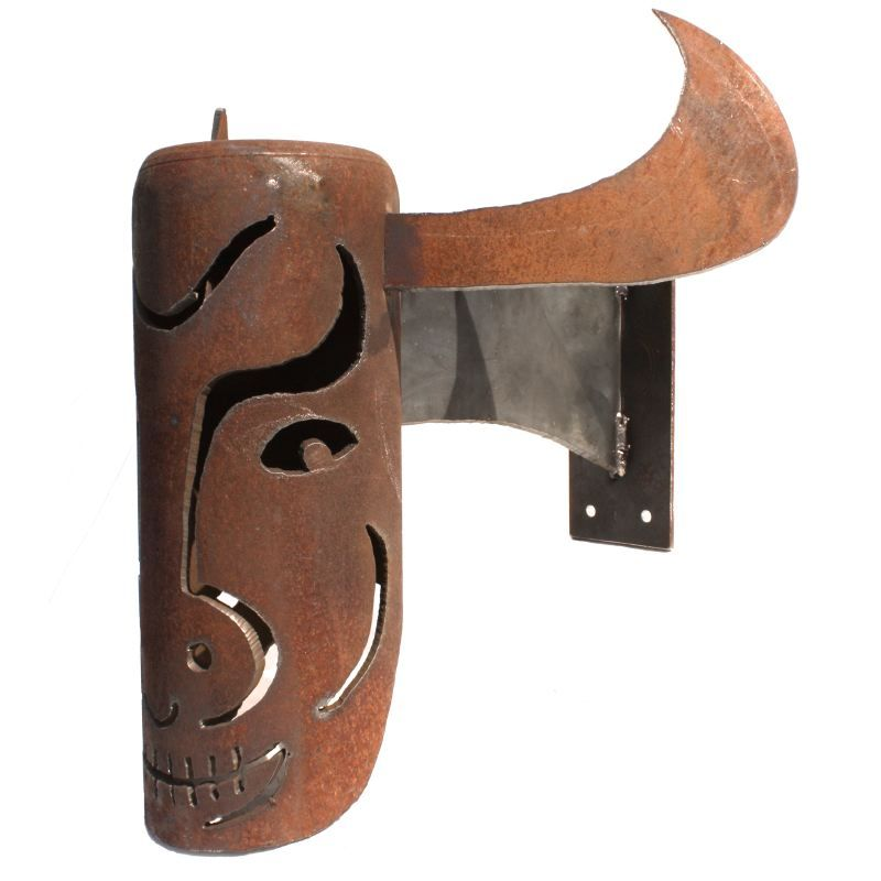 African Cow Mask — Masquerade Bell Lantern Series