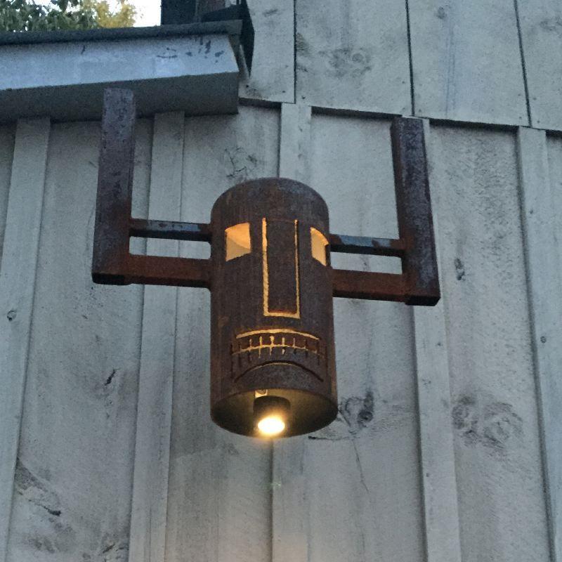 Dogon Walu Mask — Masquerade Bell Lantern Series