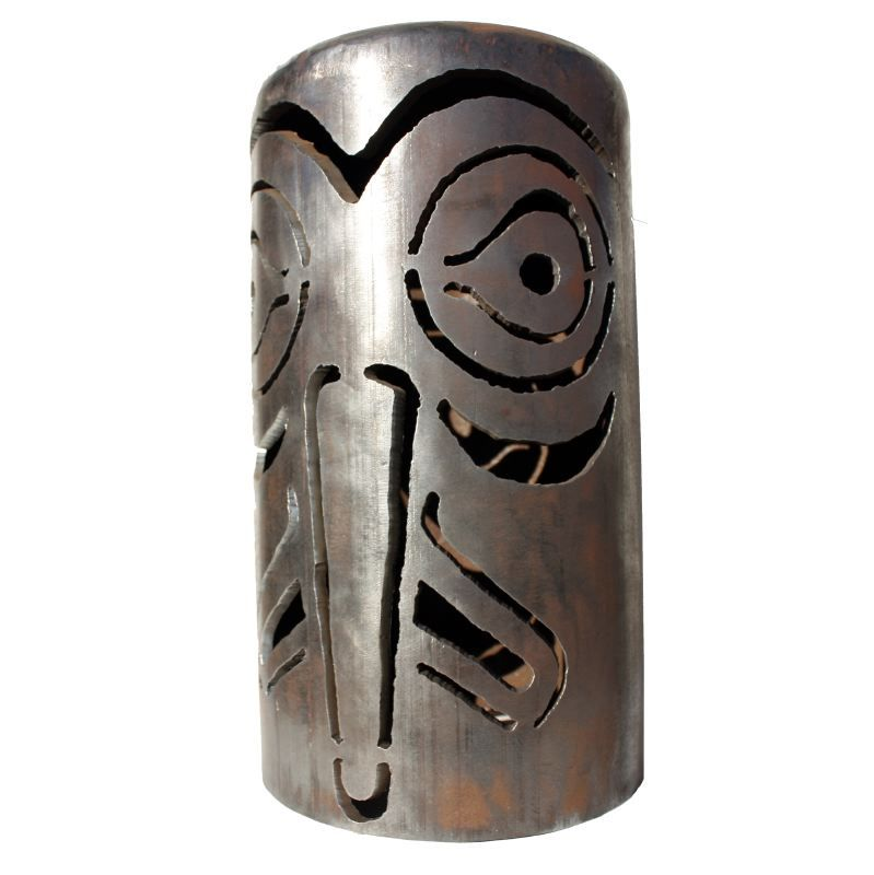 NW Coast Eagle Design — Masquerade Bell Lantern Series
