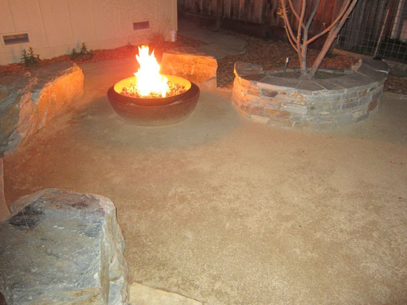 Custom Fire Feature double caldera